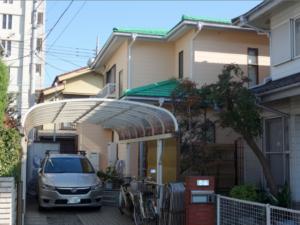 施工事例 外壁塗装 東京都府中市晴見町T様邸